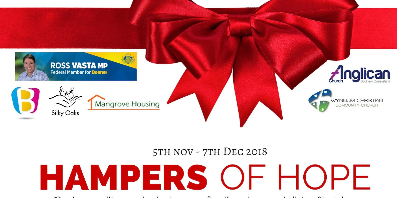 donate to hampers of hope to help families in need this christmas